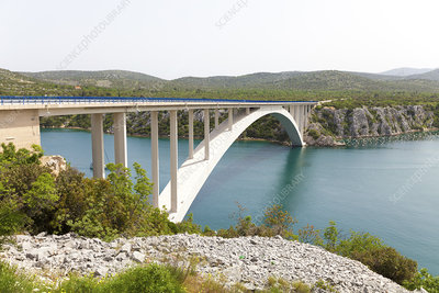 Pag bridge, Croatia