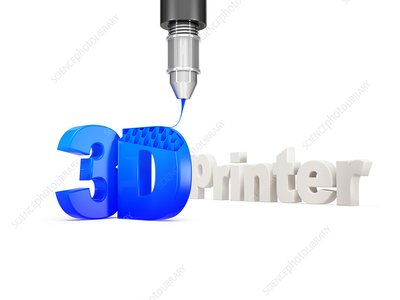 3D printer, illustration