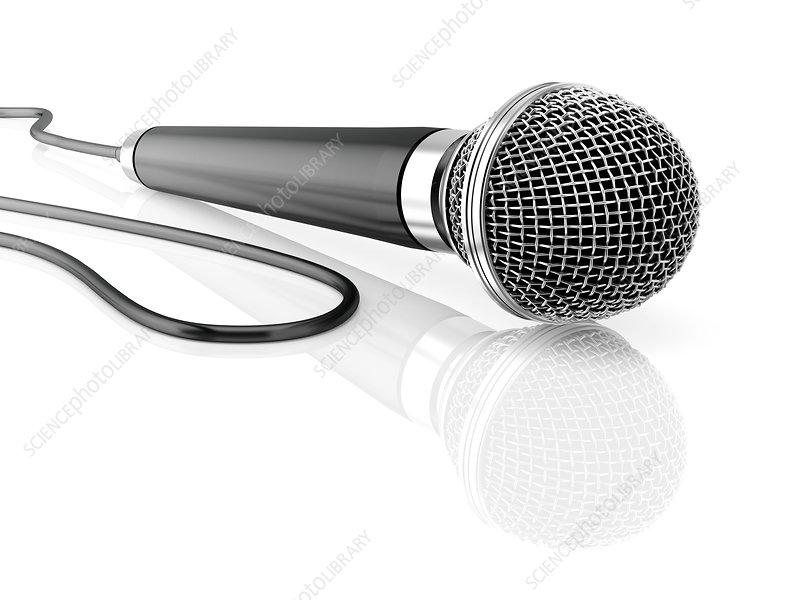 Microphone, illustration