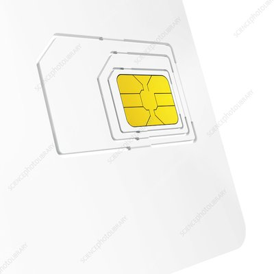 SIM card, illustration
