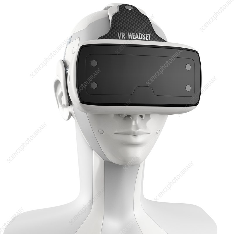 Virtual reality technology, illustration