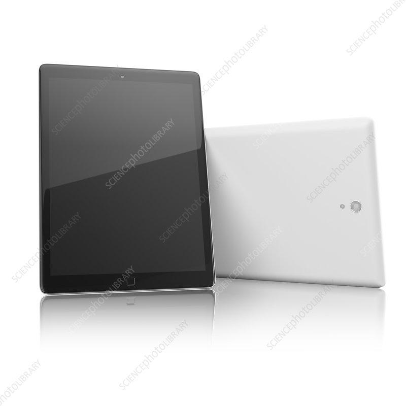 Digital tablet, illustration