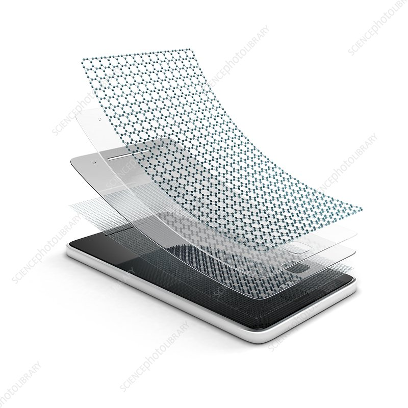 Protective film for screen, illustration