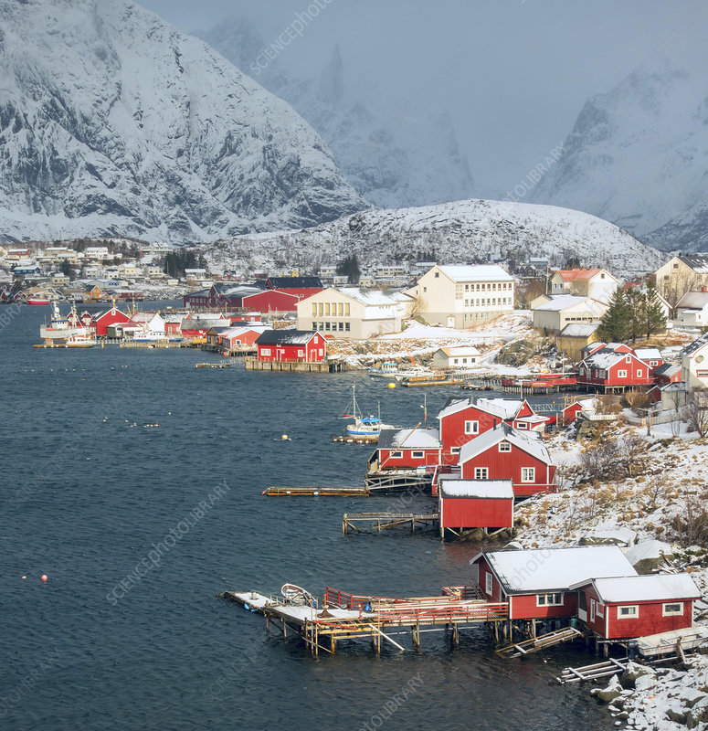 Hamnoy fishing village, Lofoten Island, Norway