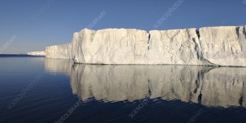 Ice cliffs, Svalbard, Norway