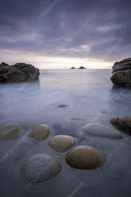 Porth Nanven, Cornwall, UK