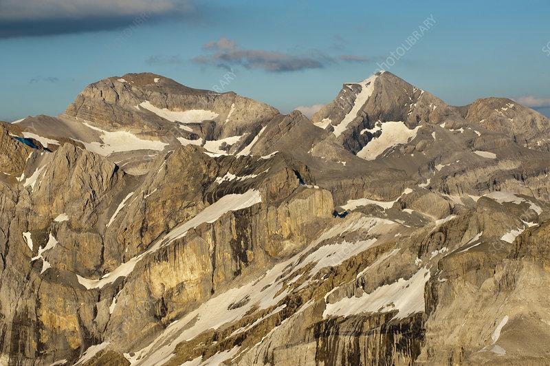 Monte Perdido limestone massif, Spain