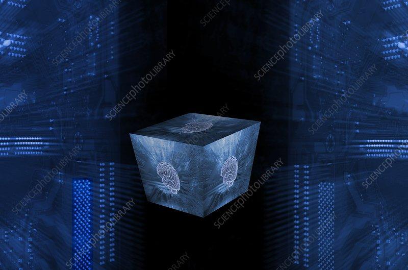 Artificial Intelligence, concept illustration