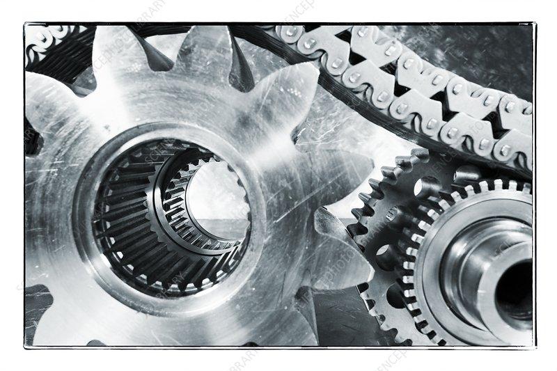 Titanium gears and cogs