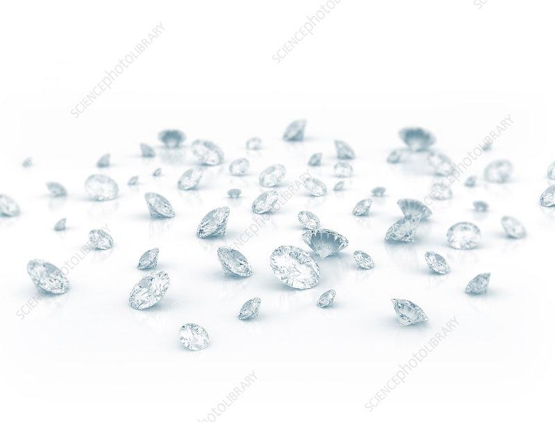 Diamonds, illustration