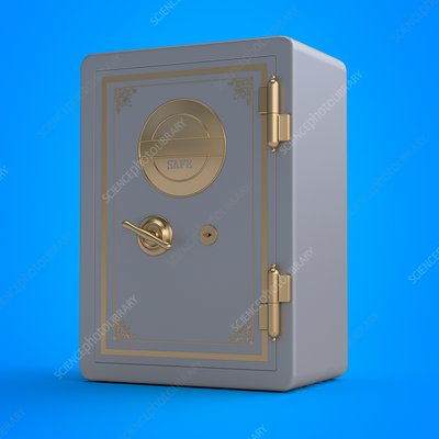 Illustration of a safe