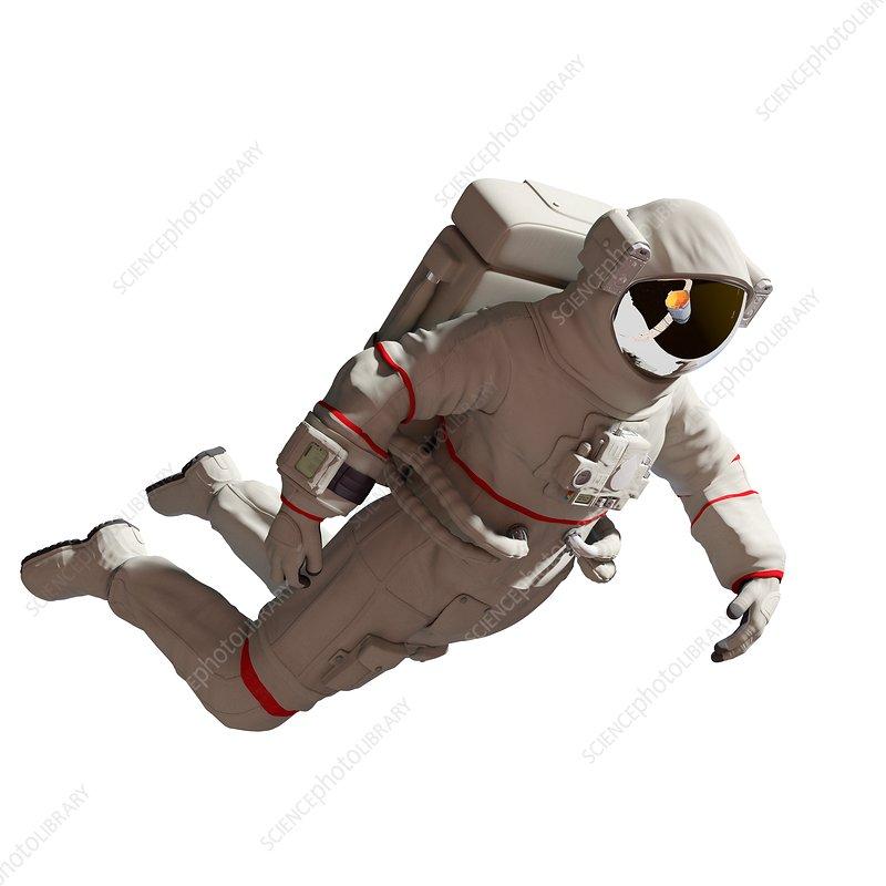Illustration of an astronaut
