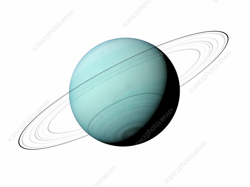 Illustration of Uranus