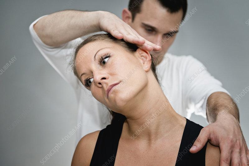 Chiropractic Adjustment Stock Photo - Download Image Now