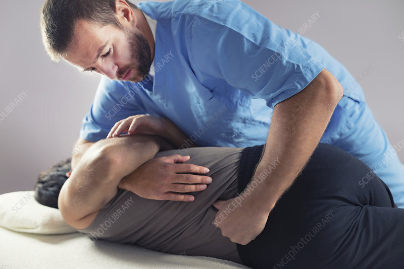 Chiropractic Adjustment Stock Images, Royalty-Free Images