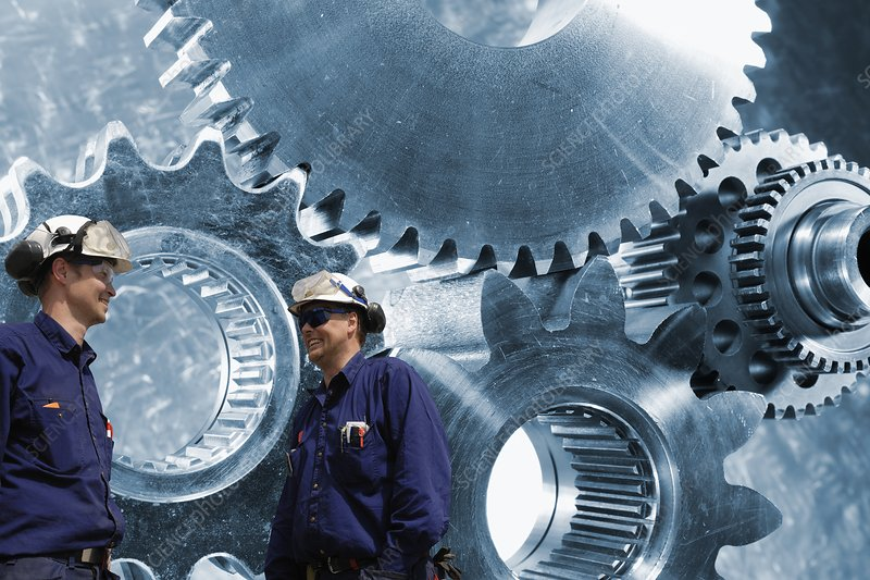 Engineers and gears