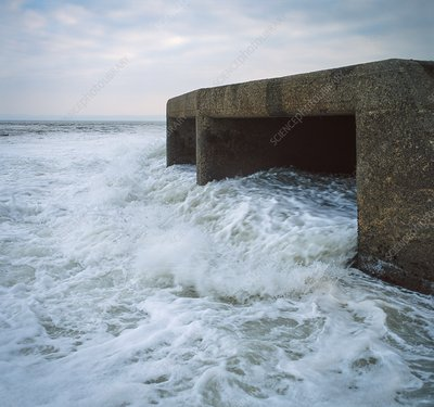 Cooling water outfall