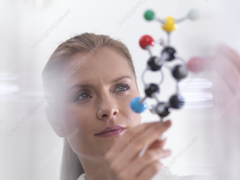 Chemistry research, conceptual image