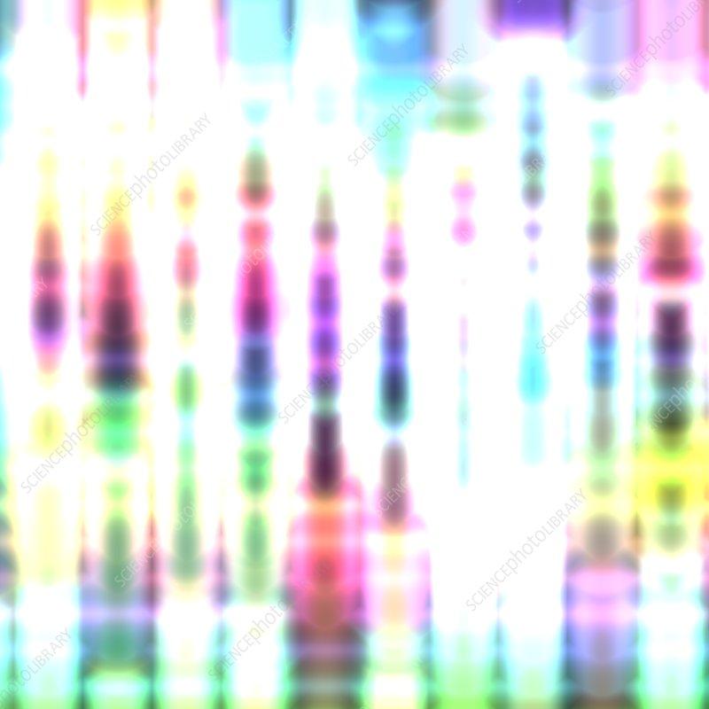 DNA sequencing, illustration