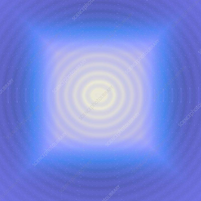Abstract circles, illustration