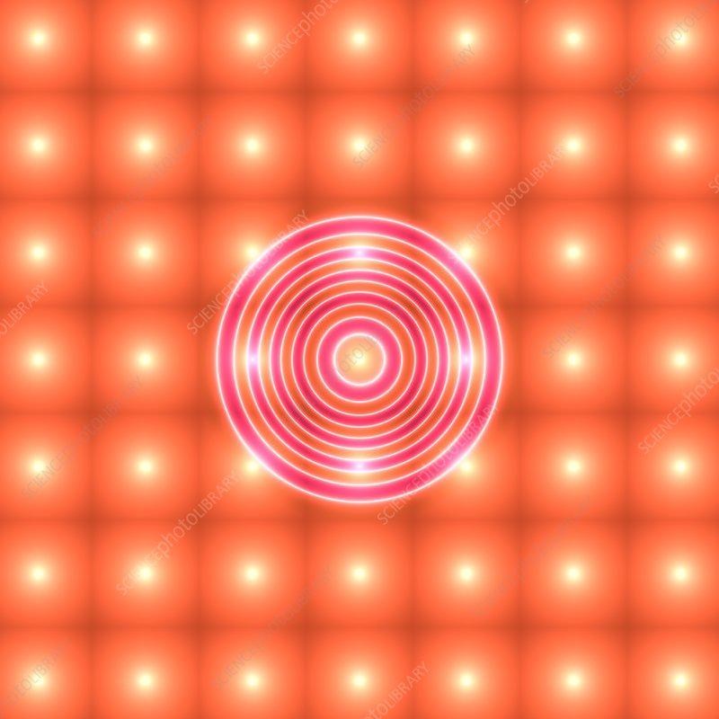 Quantum data, illustration