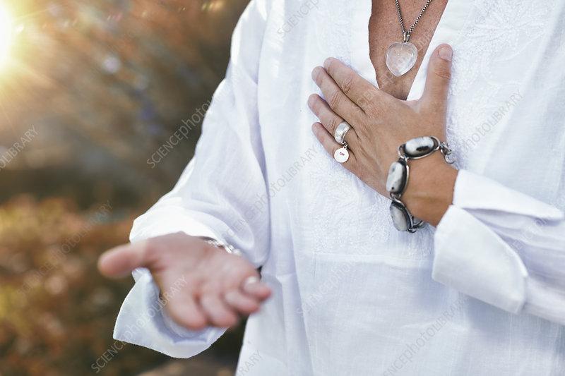 Giving ability meditation
