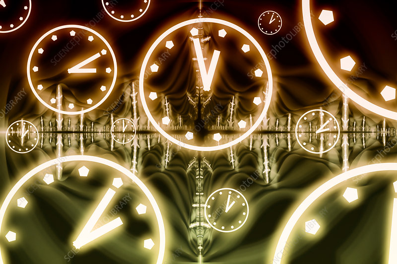 Relativity, conceptual illustration