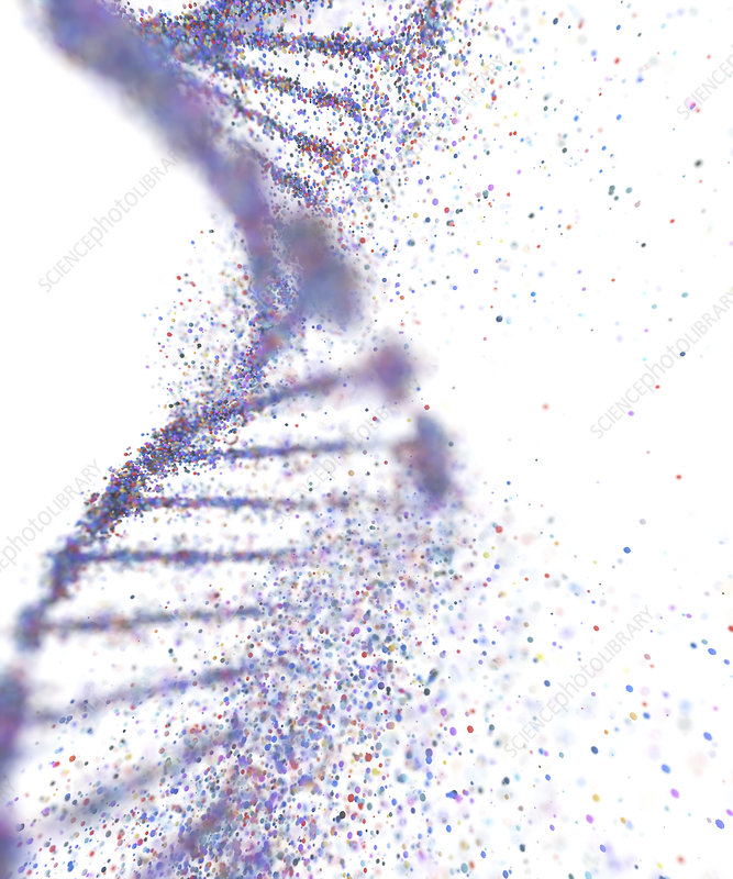 Genetic disorder, conceptual illustration