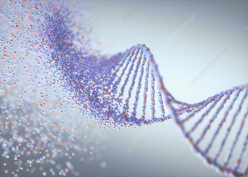 Genetic disorder, conceptual illustration