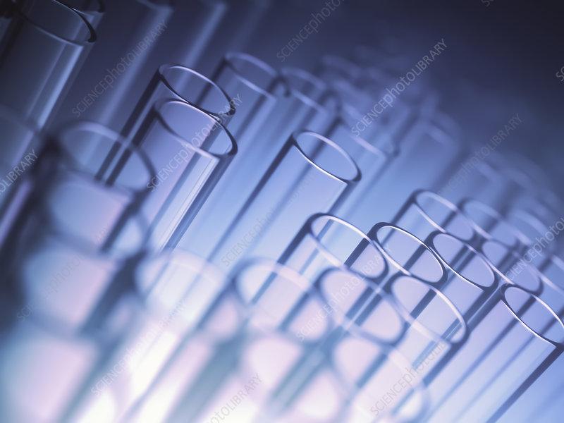 Test tubes, illustration