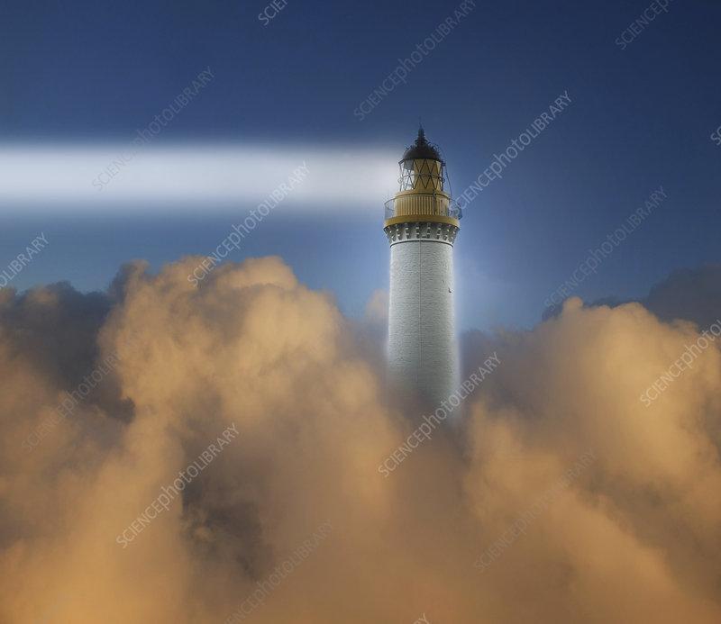 Lighthouse, illustration