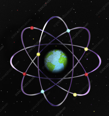 Atomic Earth, conceptual illustration