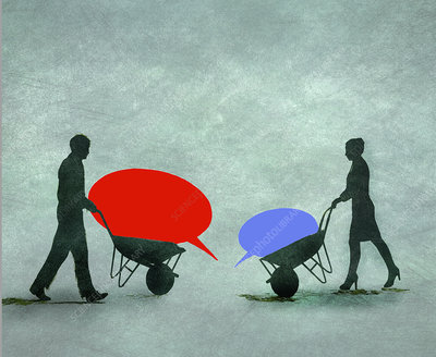 Discussion, conceptual illustration