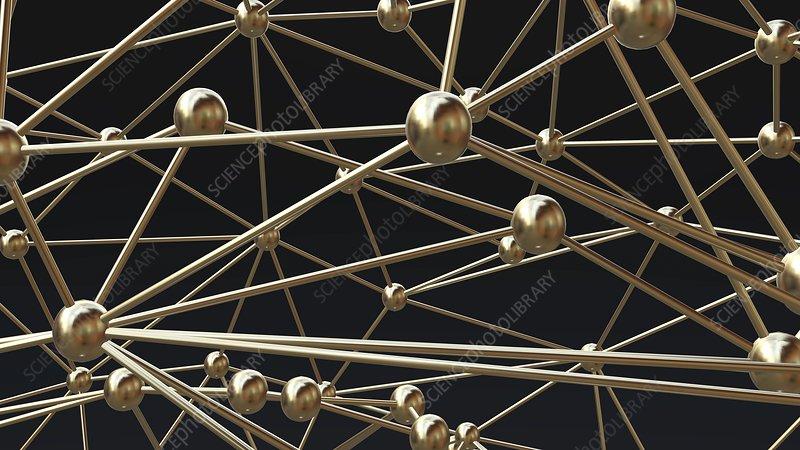 Network, conecptual illustration