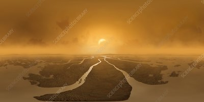 360 Artwork of Delta on Titan