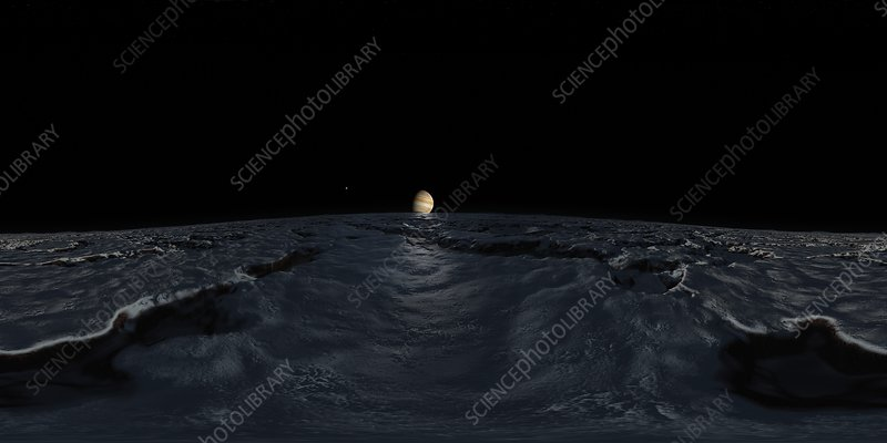 Jupiter From Europa VR