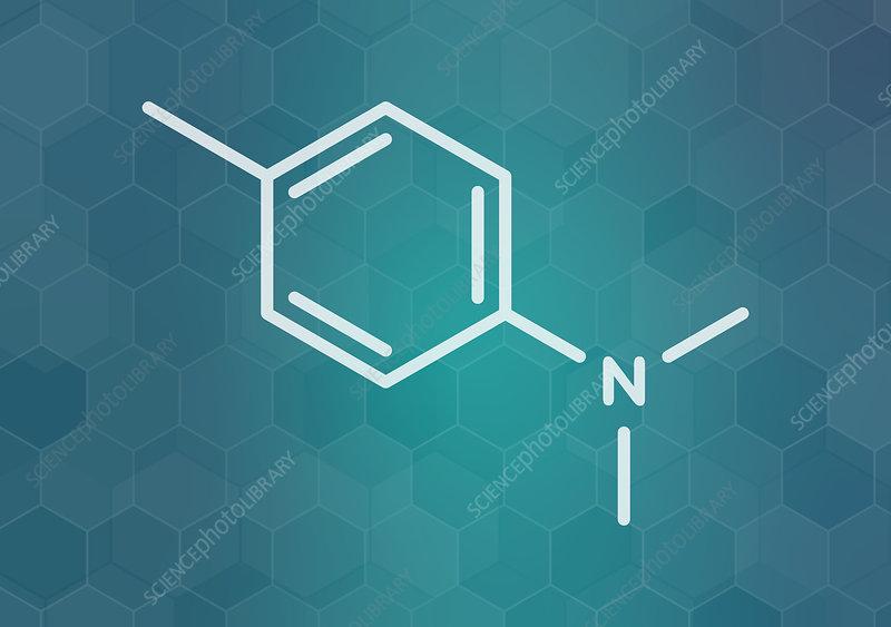DMPT molecule, illustration