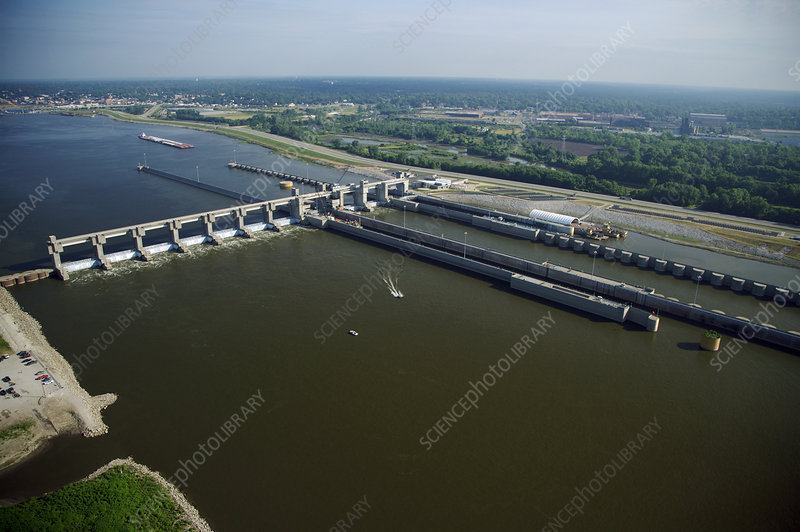 Mississippi River Locks