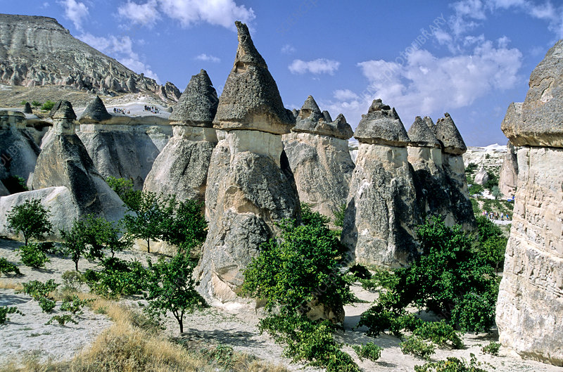 Pinnacles in Cappadocia
