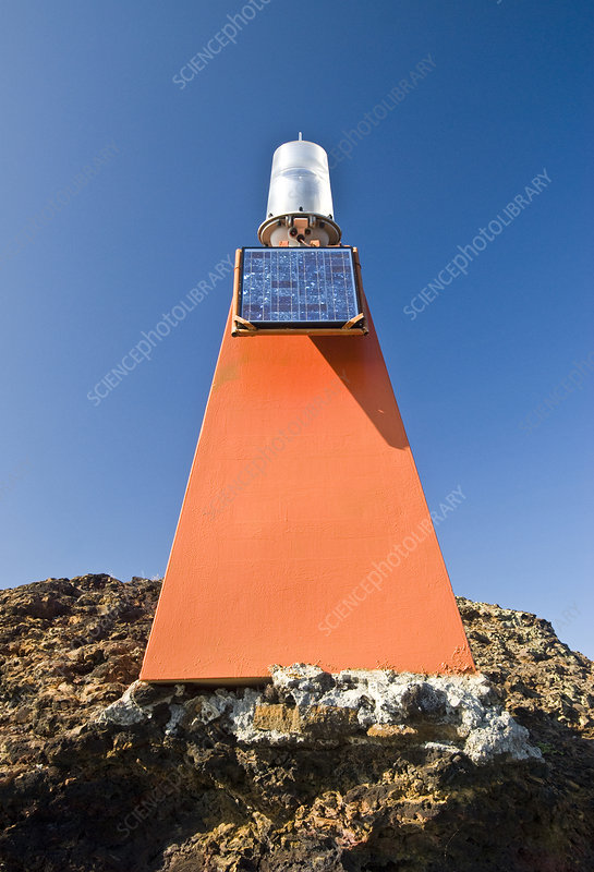 Lighthouse on Bartolome Island