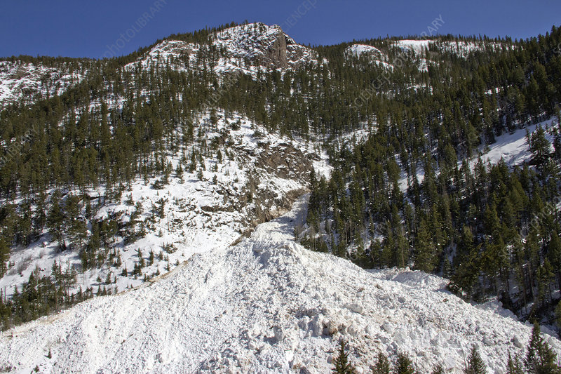 Avalanches in Colorado