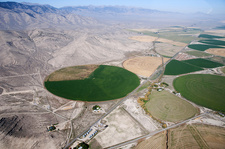 Center Pivot Irrigation in Eastern, USA