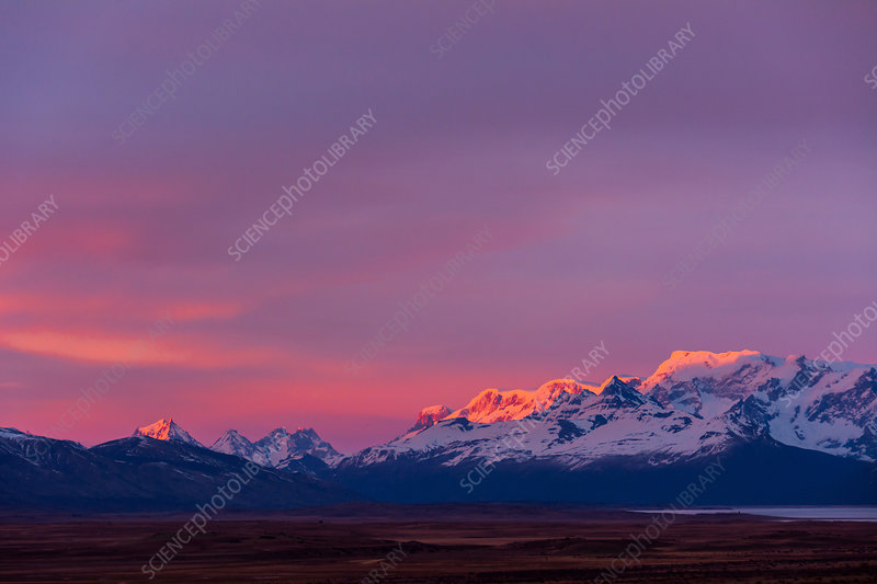 Sunrise, Andes Mountains, Argentina