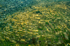 Aerial Of Land Surrounding Brazzaville, Congo