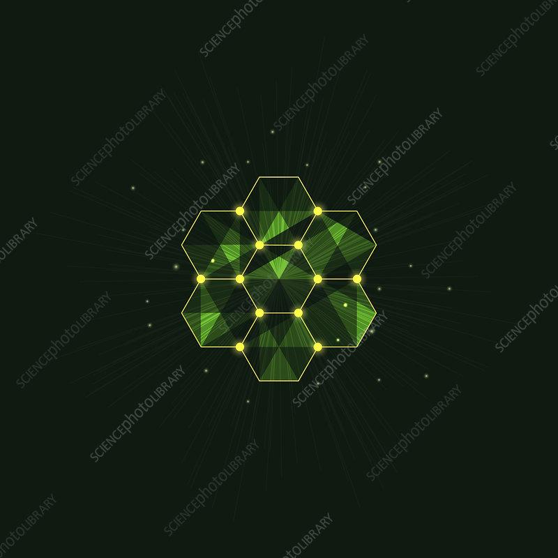 Honeycomb, conceptual illustration