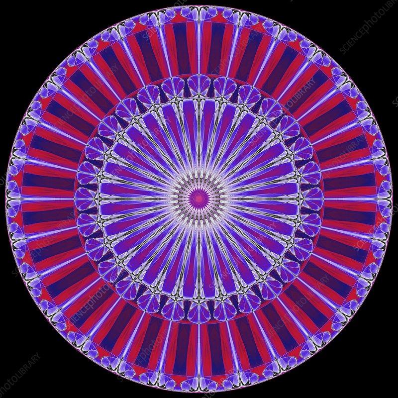 Abstract fractal illustration