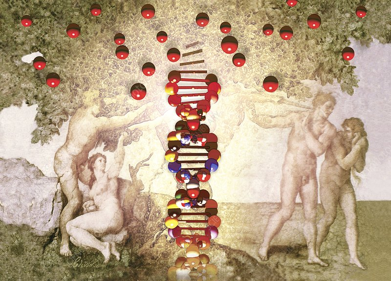 DNA as the Tree of Knowledge, artwork