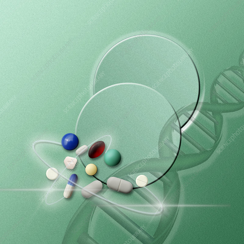 Pills and DNA