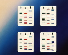 Paternity testing by analysis of DNA fingerprints