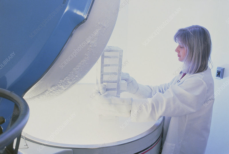 Genome research: removing cells from cryostorage